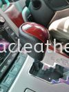 TOYOTA ALPHARD GEAR KNOCK REPLACE LEATHER Car Gear Knock