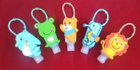 Hand Sanitizer Cute PVC holder with 30ml bottle Hand sanitizer Safety First