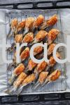 OTS-065 Frozen Atlantic Salmon Belly Fin (HALAL) Frozen Products