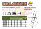 HHL-SAS (ALUMINIUM HOUSEHOLD STEP LADDER) DR LADDER LADDER