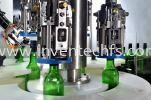 ICAPPATIC 4 - AUTOMATIC 4 HEAD ROLL ON PILFER PROFF CAPPER Capping Machine