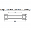 Thrust Ball Bearing Bearing