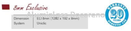 ELI 018 Serene Sepia 8mm Exclusive (AEX) Laminated Timber Flooring