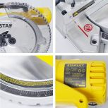 """SM16 STANLEY 10"""" COMPOUND MITER SAW 【READY STOCKS】245MM FOR WOOD WORK CUTTING SM 16 STANLEY SM16 10I"""