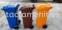 Recycle Mobile Garbage Bin  (3 in 1) Recyle Bin and Sanitary Bin Housekeeping Products