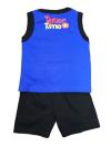 3 pcslot 2~5 years old boy T-shirt with pant set shirt singlet cute cartoon sleeveless T-Shirts & Shirts Boys