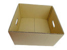 HALF REGULAR SLOTTED (HRSC) CORRUGATED BOX