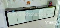 ALAM PERMAI  KITCHEN CABINET -GLASS DOOR KITCHEN CABINET