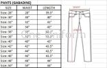 SC-03 Seluar Security (Size 28-50) Pants