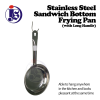 Stainless Steel Sandwich Bottom Frying Pan (With Long Handle) Frying Pan Cookware
