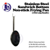 Stainless Steel Sandwich Bottom Non-Stick Frying Pan (With Long Handle) Frying Pan Cookware