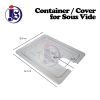 Container / Cover For Sous Vide Food Pan Food Storage