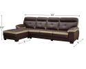 HY-2 4443-4R L Shape Sofa Sofa Series Living Room Series