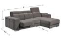 HY-2 6090-3L+con+stool L Shape Sofa Sofa Series Living Room Series