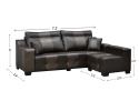 HY-2 1000-3+SL L Shape Sofa Sofa Series Living Room Series