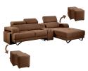 HY-2 355-3L+con+4stool L Shape Sofa Sofa Series Living Room Series