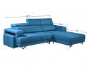 HY-2 334-3L+4stool L Shape Sofa Sofa Series Living Room Series