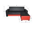 HY-1 300-3+SL L Shape Sofa Sofa Series Living Room Series