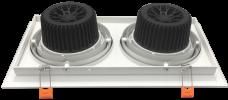 Led Adjustable Downlight 2x12w Panel Light