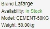 Phoenix Cement Building Material