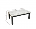 HY CO42 Coffee Tables & Console Table Living Room Series