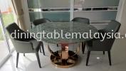Luxury Granite Dining Table | Blue Jade | 6 seaters Marble Dining Table