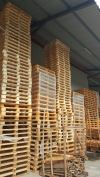 USED WOODEN PALLET WAREHOUSE HANDLING MATERIALS SOLUTION