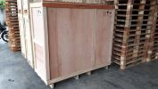 WOODEN CRATE WAREHOUSE HANDLING MATERIALS SOLUTION