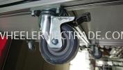 Plate Swivel Brake PU Caster Castor Wheel