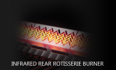 Napoleon Rogue® RSE525RSIBPSS-1 Infrared Side & Rear Burners Napoleon Gas Grills
