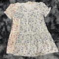 80736 Plus Size Floral Laced Dress