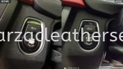 BMW 320I START BUTTON SPRAY Car Button Cover Leather