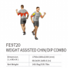 Weight Assisted Chin/Dip Combo FE9720    EXOFORM Strength Machine Commercial GYM