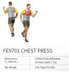 Chest Press FE9701    EXOFORM Strength Machine Commercial GYM