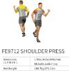 Shoulder Press FE9712    EXOFORM Strength Machine Commercial GYM