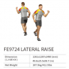 LATERAL RAISE FE9724    EXOFORM Strength Machine Commercial GYM