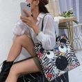 EYE THEME FASHION SHOULDER BAG