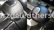 HONDA ACCORD GEAR LOCK METALLIC COVER SPRAY & REPLACE SYNTHETIC LEATHER  Car Gear Knock