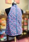 Sold Out - BTK(T)061 Batik A  Line Qipao Top Tops Batik Cheongsam Qipao/Cheongsam Series