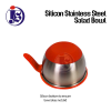 Silicon Stainless Steel Salad Bowl Salad Bowl Kitchen Utensils