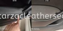 VOLKSWAGEN GOLF DOOR PANEL WRAPPING REPLACE Car Door Panel Leather