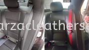 MERCEDES CLS63 SEAT BELT REPLACE FROM BLACK TO RED Car Interior Design