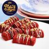 Ita Delight Red Velvet Almond Cookies Chef Ita Delight Handmade Kuih Raya Cookies