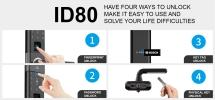 Bosch ID80 (Black) Bosch Digital Lock