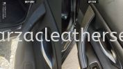 BMW 323I  DOOR PANEL HANDLE REPLACE SYNTHETIC LEATHER Car Door Panel Leather