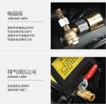 CLEANAIR  MINI OILESS AIR COMPRESSOR WITH 8L TANK 800W 230V 60L/MIN 0.7MPA (WT:15KG)