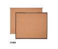 CB34W CORK Notice Board - Classic Wooden Board Notice Board  Writing Equipment