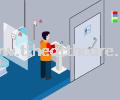 ESB903 Eracall Wireless OKU Toilet Disable Person Emergency Call Alarm System Disable Toilet Call Nurse Call System