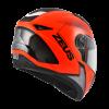 ZEUS ZS-811-Matt Red AL6 Black FULL FACE MOTORCYCLE HELMETS