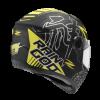 ZEUS ZS-811-Matt Black AL31 FULL FACE MOTORCYCLE HELMETS